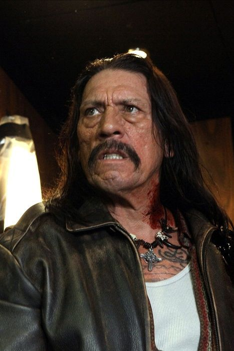 Danny Trejo - the man who's been type-cast as the must-have baddie in any film involving Mexicans.